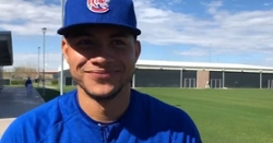 WATCH: Willson Contreras cranks 3-run homer during scrimmage
