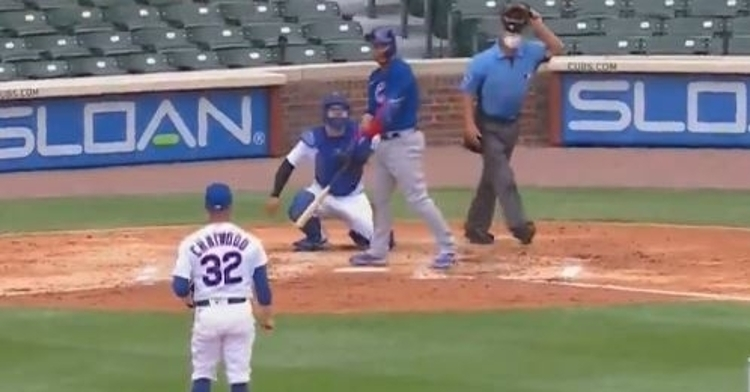 Contreras is hot hitting his 4th homer of summer camp