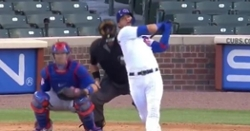 WATCH: Willson Contreras blasts towering homer off of Yu Darvish