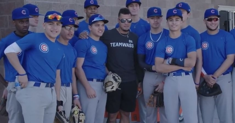 Cubs RBI All-Stars got to spend some time with Javy Baez and others
