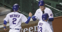 Cubs outlast Reds in barn burner, win season series