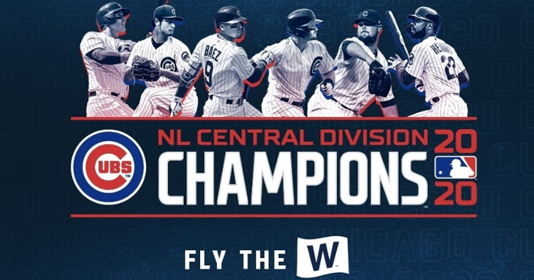 The Chicago Cubs have now won the National League Central three times in five seasons.