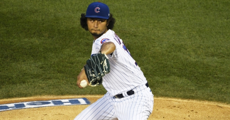 Darvish is now a member of the Padres (David Banks - USA Today Sports)