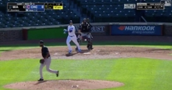 WATCH: Ian Happ goes 'oppo' with go-ahead dinger