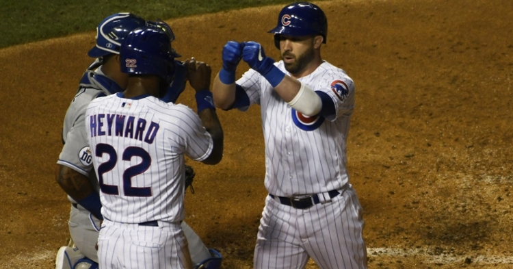 Heyward and Kipnis provide leadership for Cubs (David Banks - USA Today Sports)