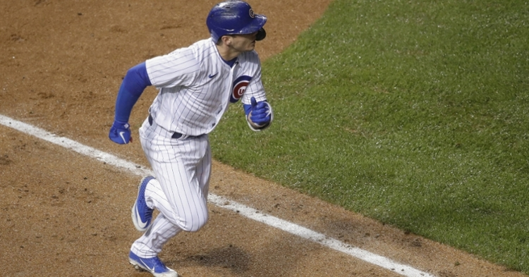 Hoerner has a bright future with the Cubs (Kamil Krzaczynski - USA Today Sports)
