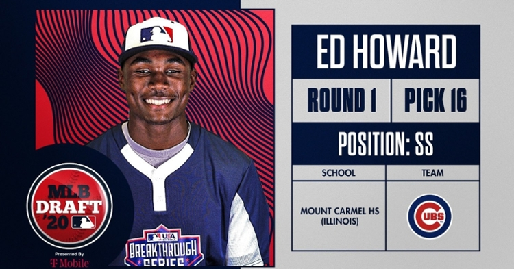 Ed Howard is a big-time SS prospect for Cubs (Photo credit: MLB)