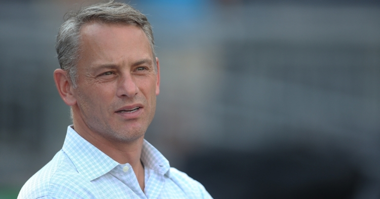 Jed Hoyer replaces Theo Epstein as the new Cubs President (Charles LeClaire - USA Today Sports)