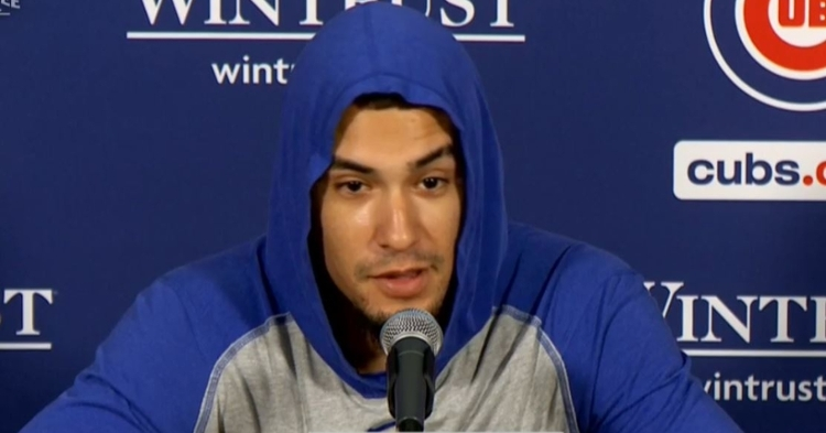 El Mago spoke to the media Wednesday