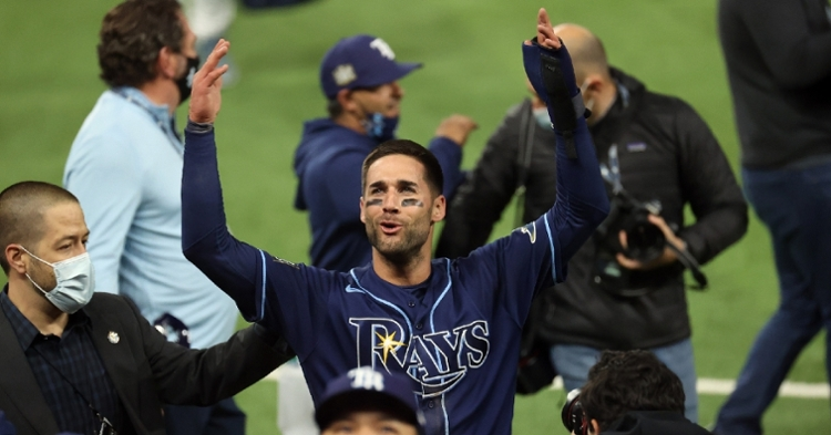 Kevin Kiermaier could be a solid fourth outfielder for Cubs (Kevin Jairaj - USA Today Sports)