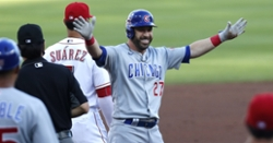 Cubs stay hot at plate, rack up 12 hits in win over Reds