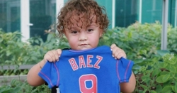 Javy Baez announces he and his wife are expecting second child