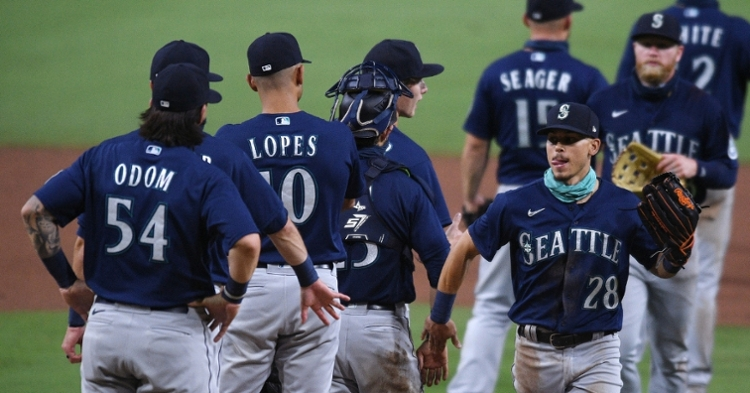 The Seattle Mariners chose not to play in Wednesday's game against the San Diego Padres. (Credit: Orlando Ramirez-USA TODAY Sports)