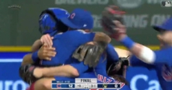 WATCH: Alec Mills mobbed by teammates after throwing no-hitter