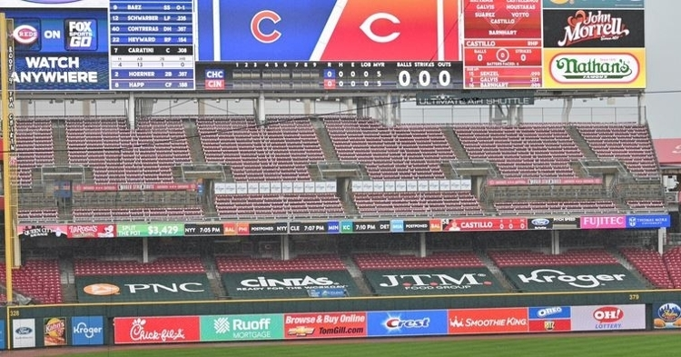 Cubs-Reds game has been postponed