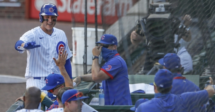 Cubs still in first place in the NL Central (Kamil Krzaczynski - USA Today Sports)