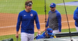 LOOK: Anthony Rizzo inexplicably shows up at Wrigley Field with straight hair