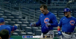 WATCH: Anthony Rizzo crushes 404-foot dinger on 0-2 count