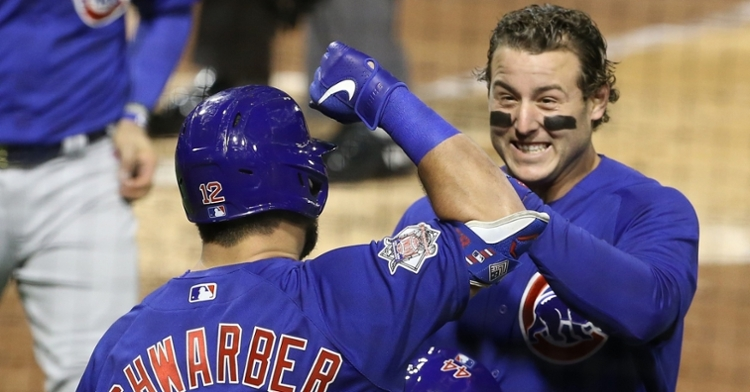 On the first day of fall, the Cubs fell to the Pirates but clinched a postseason berth, thereby extending their autumn run. (Credit: Charles LeClaire-USA TODAY Sports)