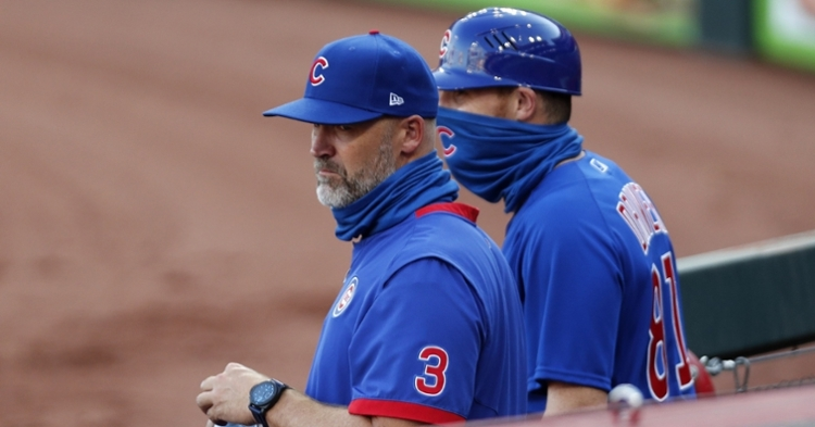 David Ross has his team in first place (David Kohl - USA Today Sports)