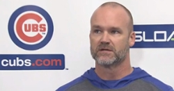 David Ross discusses if any Cubs players tested positive for COVID-19