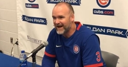 WATCH: David Ross updates his health status
