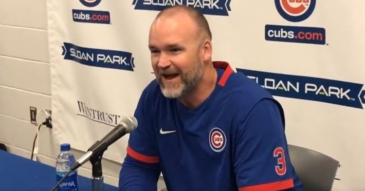 David Ross is back