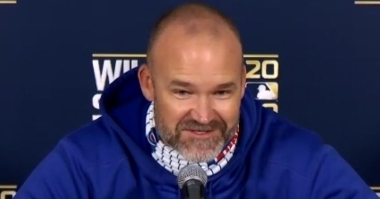 David Ross spoke to the media Tuesday