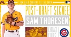 Getting to know: RHP Sam Thoresen
