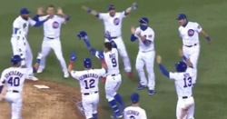 WATCH: Javy Baez smacks walk-off single in 11th inning