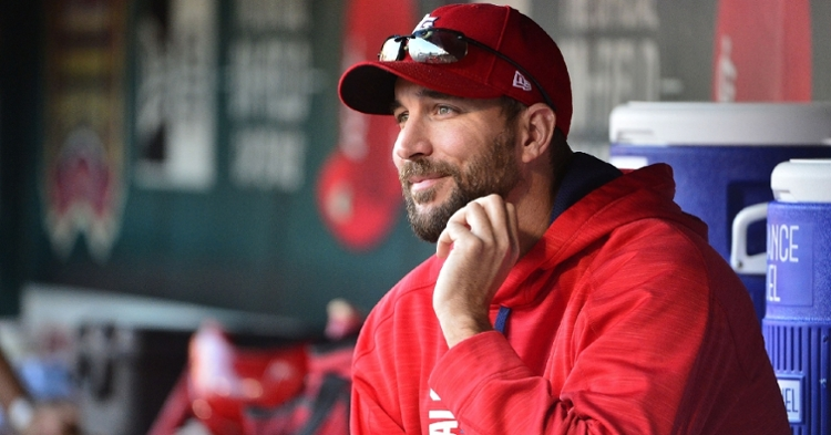 """St. Louis Cardinals pitcher Adam Wainwright revealed that many of his teammates are """"flat-Earthers."""" (Credit: Jeff Curry-USA TODAY Sports)"""