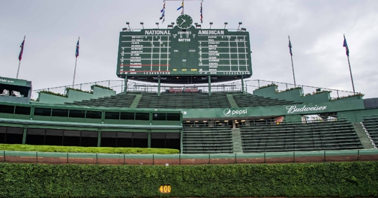 No baseball yet at Wrigley Field (USA Today Sports)