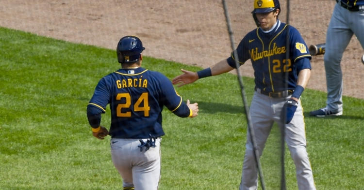 The Milwaukee Brewers defeated the Chicago Cubs for the second straight game. (Credit: Matt Marton-USA TODAY Sports)