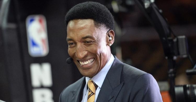 Scottie Pippen is a beloved Bulls legend (Ken Blaze - USA Today Sports)