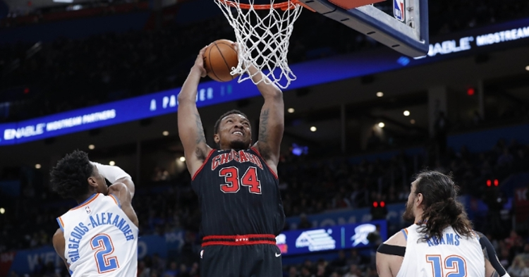 Carter is a key piece of the Bulls' future (Alonza Adams - USA Today Sports)
