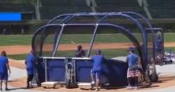 WATCH: Javy Baez, Kyle Schwarber smack homers during BP