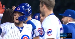 WATCH: Highlights of Cubs' walkoff win in extras over Indians