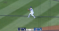 WATCH: Javier Baez shows off his cannon, throws out runner from shallow left field