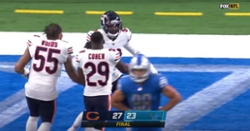 WATCH: Highlights from Bears' thrilling come-from-behind victory versus Lions
