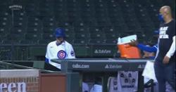 WATCH: Cubs botch postgame Gatorade shower on Kyle Hendricks