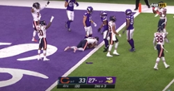 WATCH: Highlights from Bears' victory versus Vikings