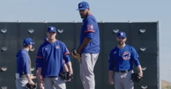 WATCH: Latest Mic'd Up at Cubs spring training