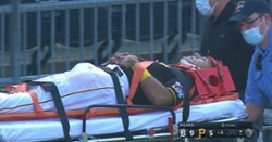 WATCH: Brutal collision results in Pirates player being stretchered off field