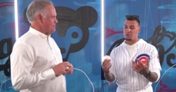 WATCH: Ryne Sandberg interviews Javy Baez on hitting, toughest pitchers, more