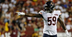 Roster Moves: Bears place starting LB on short-term IR, sign veteran WR