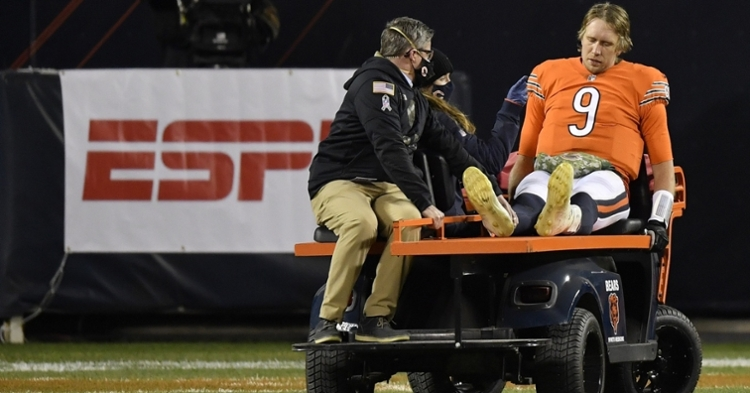 Foles was injured late in the fourth quarter vs. Vikings (Quinn Harris - USA Today Sports)