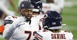 Bears are releasing their starting left tackle