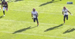WATCH: David Montgomery breaks free for 80-yard touchdown on Bears' first play