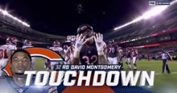 WATCH: David Montgomery scores Bears' first rushing touchdown of season