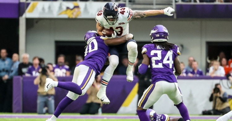 Chicago has 7 tight ends on their roster (Brace Hemmelgam - USA Today Sports)